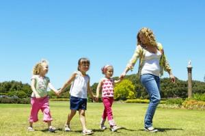 Garde d'enfants, services